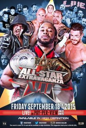 All Star Extravaganza VII - Promotional poster featuring various ROH wrestlers