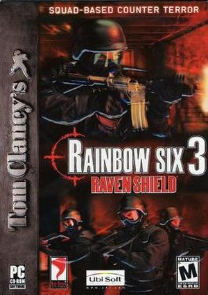 Tom Clancy's Rainbow Six 3: Raven Shield - North American Microsoft Windows cover art