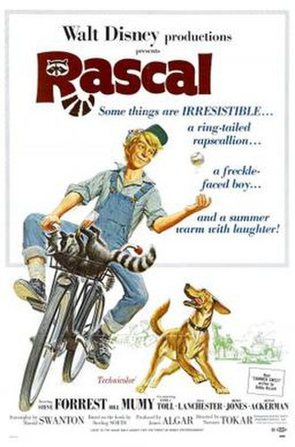 Rascal (film) - Theatrical release poster