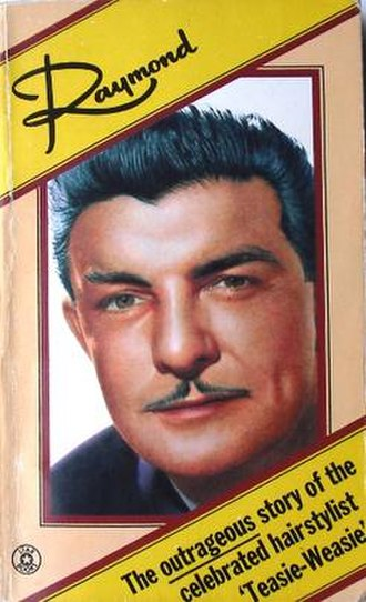 "Raymond Bessone - Cover of Bessone's autobiography ""Raymond"""