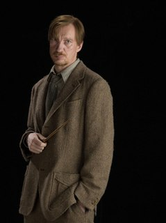 Remus Lupin Fictional character from the Harry Potter universe