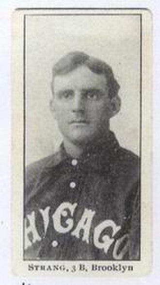 Sammy Strang - Image: Sammy Strang (1903 baseball card)