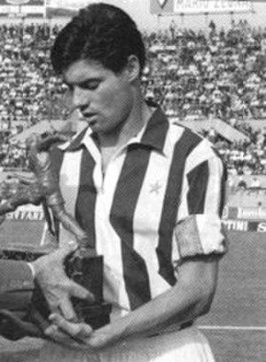 Sandro Salvadore - Salvadore in 1966 wearing Juventus's shirt