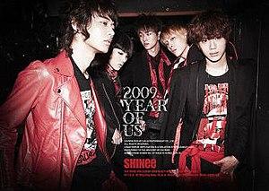 2009, Year of Us - Image: Shinee 2009yearofus