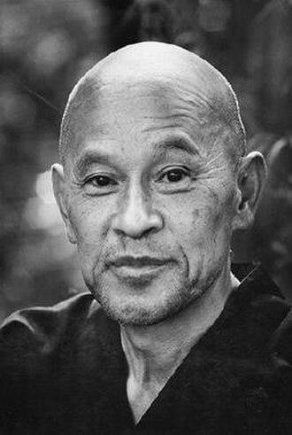 Shunryū Suzuki - Suzuki from 1970 back cover of Zen Mind, Beginner's Mind