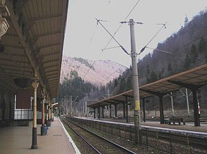 Sinaia railway station - Image: Sinaiatrainstation 2