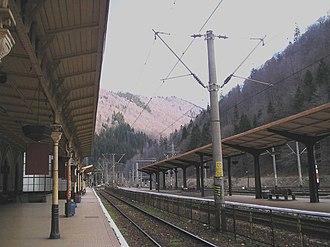 Sinaia railway station - Image: Sinaiatrainstation 2