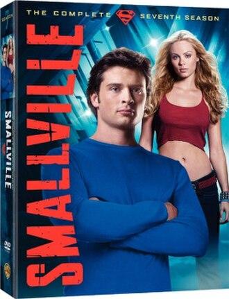 Smallville (season 7) - DVD and Blu-ray cover