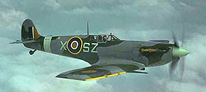 """Supermarine Spitfire variants: specifications, performance and armament - Spitfire L.F Mk Vb of 316 (Polish) """"Warszawski"""" Squadron. This Spitfire has the """"cropped"""" Merlin 45 series engine and the """"clipped"""" wings."""