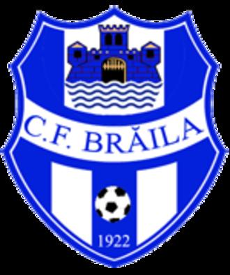 ACS Dacia Unirea Brăila - Former logo.