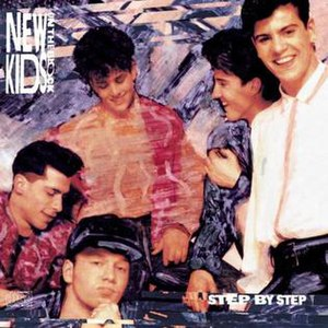 Step by Step (New Kids on the Block album) - Image: Stepbystep album cover
