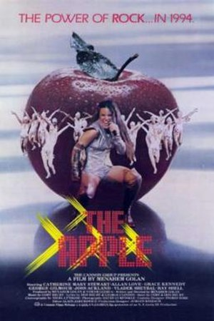 The Apple (1980 film) - Original theatrical release poster