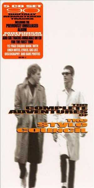 The Complete Adventures of The Style Council - Image: The Complete Adventures