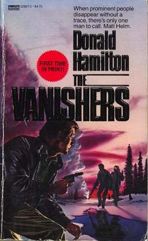 The Vanishers - 1986 paperback edition