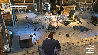 The Agency: Covert Ops - In-game screenshot of The Agency