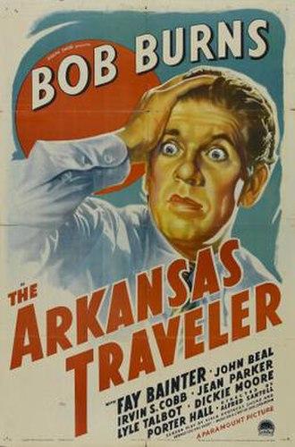 The Arkansas Traveler (film) - Theatrical release poster