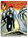 Theatrical release poster of The Cabinet of Dr. Caligari