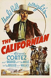 <i>The Californian</i> (film) 1937 film by Gus Meins