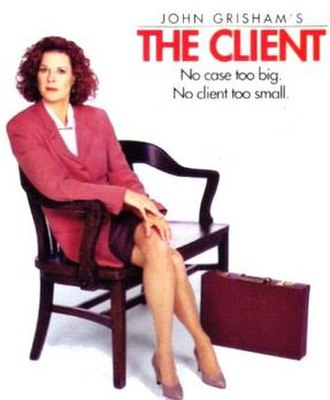 The Client (TV series) - Promotional poster for series