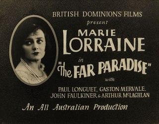 <i>The Far Paradise</i> 1928 film by Paulette McDonagh