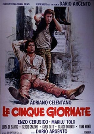 The Five Days - Italian theatrical release poster
