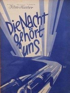 <i>The Night Belongs to Us</i> 1929 film