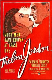 <i>The File on Thelma Jordon</i> 1950 film