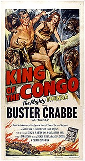 <i>King of the Congo</i> 1952 film by Wallace Grissell, Spencer Gordon Bennet