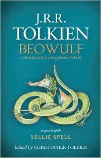 "Beowulf: A Translation and Commentary - Front cover of the 2014 hardback edition, titled ""Hringboga Heorte Gefysed"""