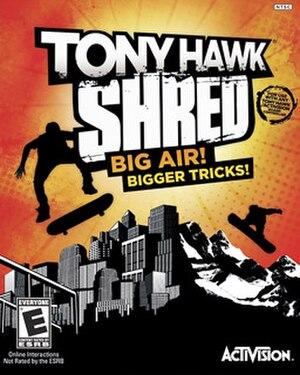 Tony Hawk: Shred - Image: Tony Hawk Shred