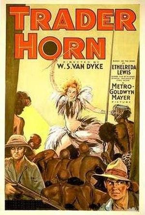 Trader Horn (1931 film) - Image: Trader Horn (1931 film) poster