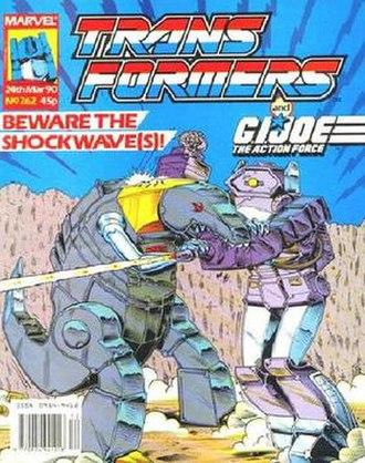 The Transformers (Marvel Comics) - Image: Transuk