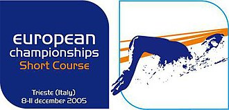 2005 European Short Course Swimming Championships - Official event logo