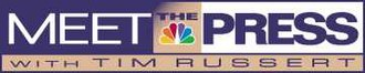 Meet the Press - Meet the Press logo used from September 10, 1995 to June 2008.