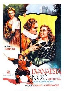 <i>Twelfth Night</i> (1955 film) 1955 Soviet film by Yan Frid