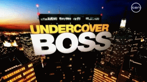 Undercover Boss (U.S. TV series) - Image: Undercover Boss Season 2 Intertitle