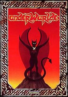 <i>Underwurlde</i> 1984 video game