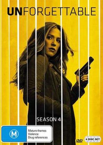 Unforgettable (season 4) - DVD cover