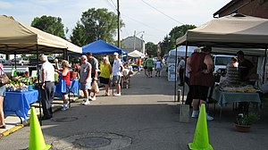 Urbana, Ohio - The Champaign County (Urbana, Ohio) Farmers Market