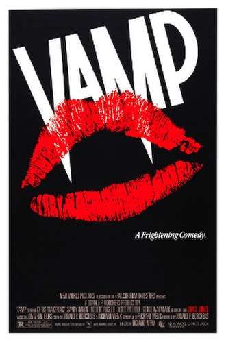 Vamp (film) - theatrical release poster