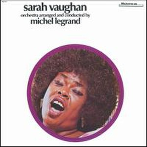 Sarah Vaughan with Michel Legrand - Image: Vaughanlegrand