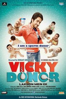 Watch Vicky Donor DVD Online Movie