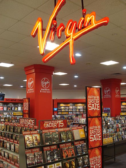 A Virgin Megastore in Brisbane (2007)