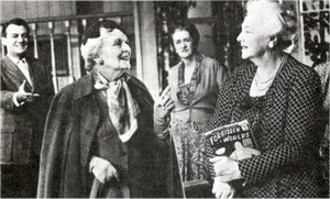 Waiting in the Wings (play) - Graham Payn, Sybil Thorndike and Mary Clare in Act I