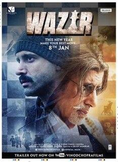 <i>Wazir</i> (film) 2016 action-thriller film directed by Bejoy Nambiar