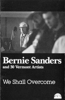 We Shall Overcome (Bernie Sanders album) cassette front cover.jpg
