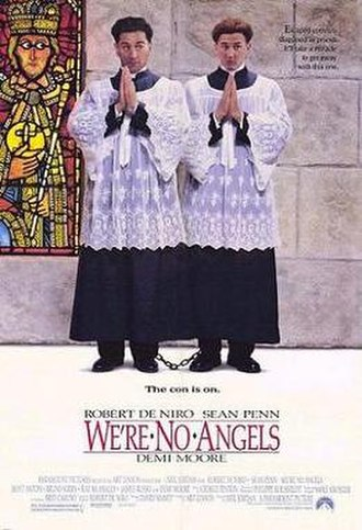We're No Angels (1989 film) - Theatrical poster