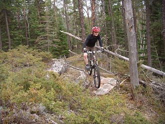 Whiteshell Provincial Park - Mountain biking