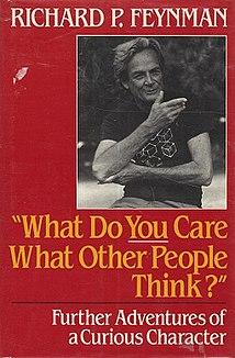 <i>What Do You Care What Other People Think?</i> book by Richard Feynman