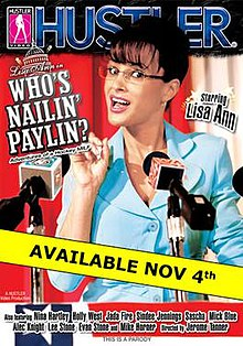 Sarah palin parody on hustler